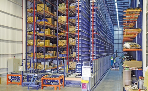 Mecalux develops a warehouse type that suits all Renfe maintenance centres