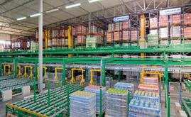 Mecalux built an automated warehouse with an 18,000 pallet storage capacity