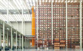 The new warehouse is 7,000 m2 and has a capacity of more than 65,000 pallets