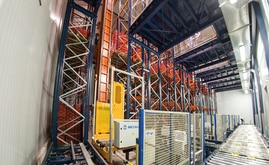 The automated warehouse for field fresh products