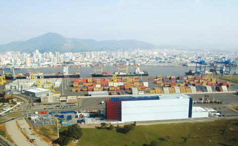 An ambitious project in the port of Navegantes, Brazil, consolidates Portonave's growth