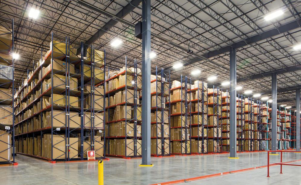 The benefit of pallet racking is the unlimited storage options for goods