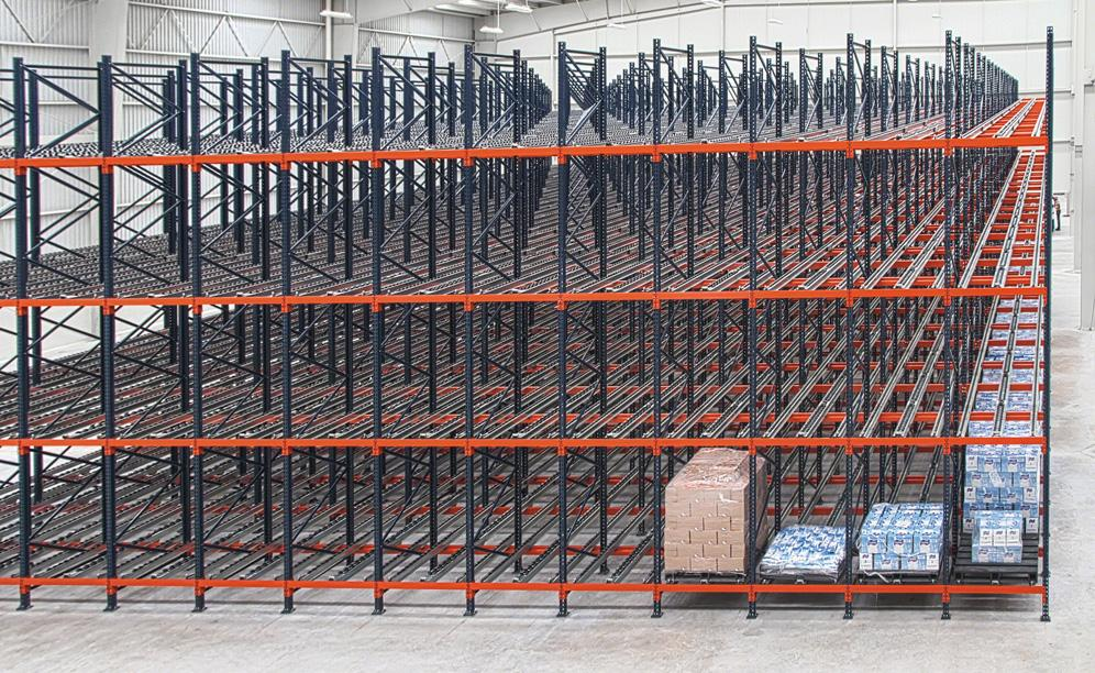 The MIYM's warehouse can store 1,200 pallets