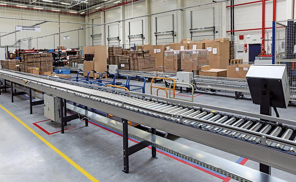exemple of sectored warehouse in poland mecalux co uk