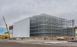 Clad-rack warehouses are a very useful solution in cold storage due to optimisation of the surface