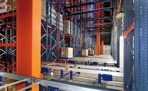 Grupo Siro has increased its capacity and productivity with a 35.5 m high automated clad-rack warehouse