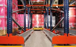 Mecalux reorganises the warehouse of Domaines Paul Mas, automation arrives in the form of the racking served by shuttles