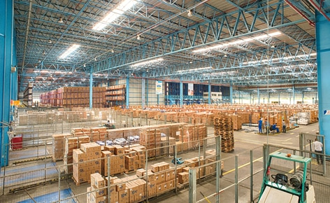 The company Ypê improves its productivity thanks to an automated warehouse with wide prep area for order