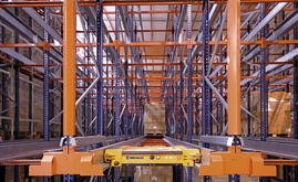 Installing the Pallet Shuttle system improves productivity, obtains more capacity and reduces personnel costs