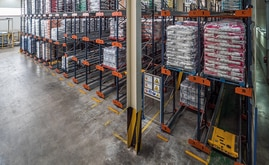 Mecalux chose to install the Pallet Shuttle storage system in order to maximise the available space