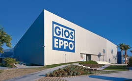 It was paramount to reduce the impact constructing a clad-rack warehouse had on the landscape of Gioseppo's logistics centre