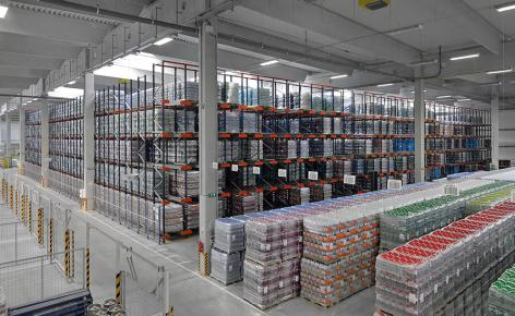 The Santa-Trans logistics centre can store 11,115 pallets