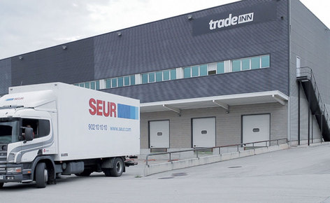 Success story of the warehouse management software of Tradeinn in Girona
