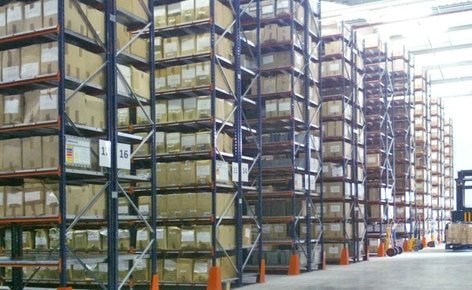 Management and control of an archive of 39,800 different items with Easy WMS Basic