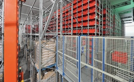 The company has entrusted Mecalux to supply and install the automated warehouse, the equipment required for connecting it to the production area, an efficient picking area and the warehouse management system, Easy WMS