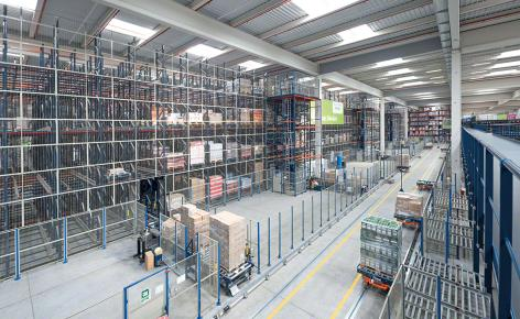 Capacity, sequencing and high availability in the logistics centre of Luís Simões
