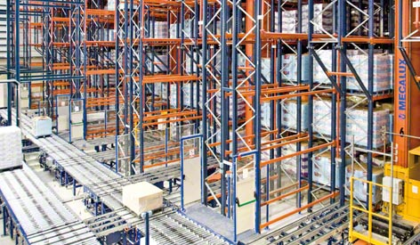 Automated Warehouses for Pallets